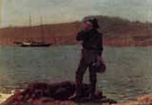 Calling the Pilot aka Hailing the Schooner 1876